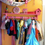 How to organize dress up clothes!