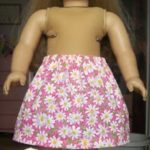 Making Doll Clothes – #1 Easy Skirt