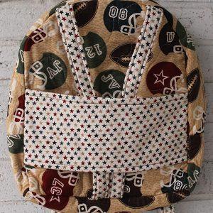 Football Star Doll Carrier Backpack