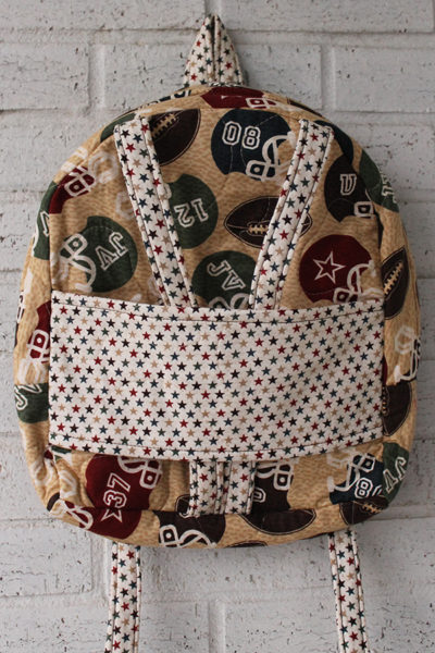 Football Star Doll Carrier Backpack